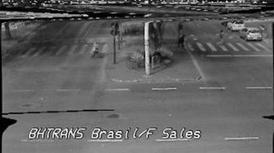 Daylight webcam view from Belo Horizonte: c/ Francisco Sales − Traffic
