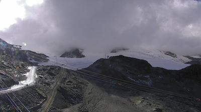 Webcam Blatten: Zermatt, Trockener Steg (Furggsattel)