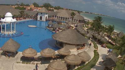 Vista de cámara web de luz diurna desde Puerto Morelos: Now Sapphire Riviera Cancun