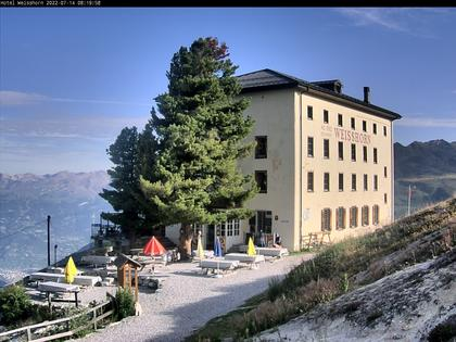 Saint-Luc › Süd: Hôtel Weisshorn