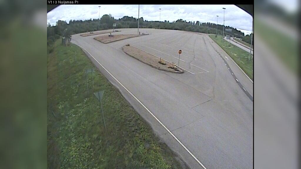 Webcam Nuyyama: Tie13 Raja, parkki 1