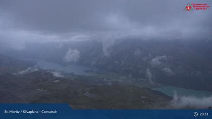 Silvaplana: Corvatsch - Corvatsch, Corvatsch , Oberengadiner Seenlandschaft