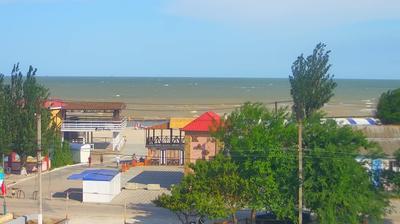 Webcam Genichesk › South-East: Вид на набережную и море