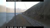 Current or last view Holmavik: Þröskuldar