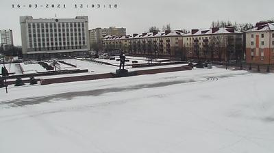 Daylight webcam view from Babruysk: Lenin Square