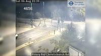 London: Priory Rd/Christchurch Rd - Aktuell