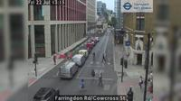 City of London: Farringdon Rd/Cowcross St - Overdag