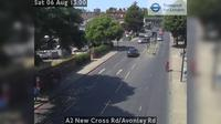 London: A New Cross Rd/Avonley Rd - Overdag