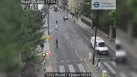 City of London: City Road - Epworth St - Overdag