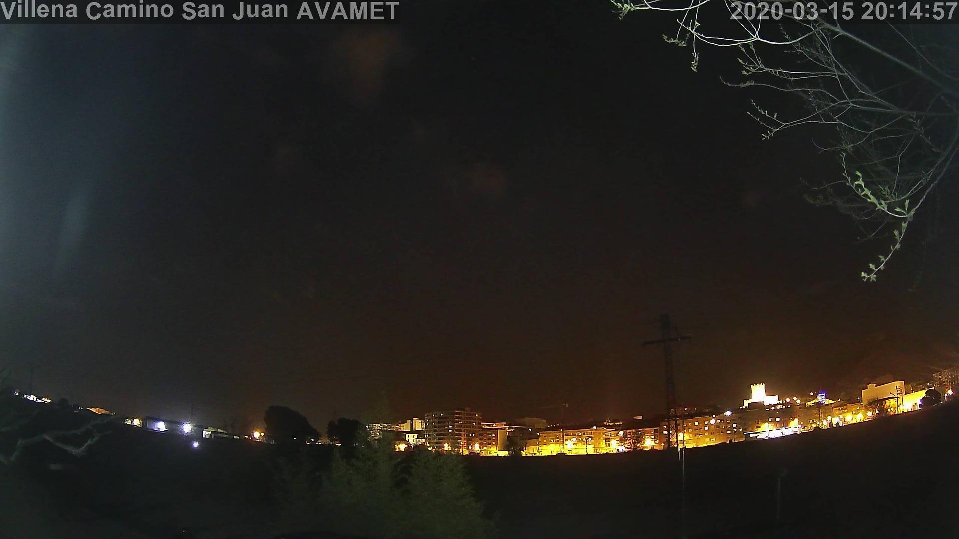 Webkamera Villena › North: Serra de la Vila