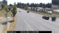 Courtenay > South: Intersection of Ryan Rd and Lerwick Rd in - looking south - El día