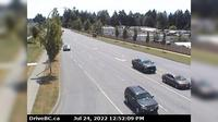 Courtenay > South: Intersection of Ryan Rd and Lerwick Rd in - looking south - Day time