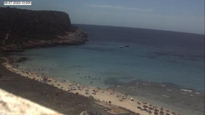 Tageslicht webcam ansicht von Son Bou › South East: Son