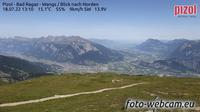 Pfafers: Pizol - Bad Ragaz - Wangs - Blick nach Norden - Dagtid