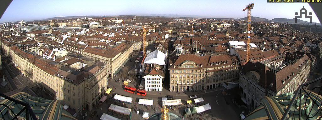 Bern: Bundesplatz - UNESCO- Von Bern
