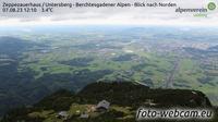Grodig: Zeppezauerhaus - Untersberg - Berchtesgadener Alpen - Blick nach Norden - El día