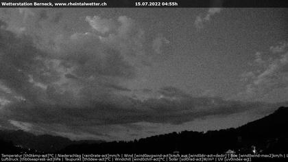 Berneck: Rheintalwetter