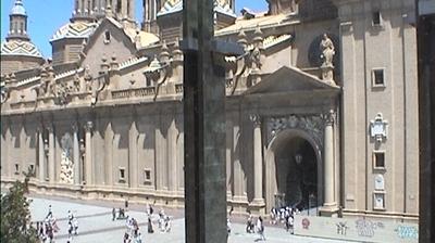 Tageslicht webcam ansicht von Zaragoza: Plaza del Pilar