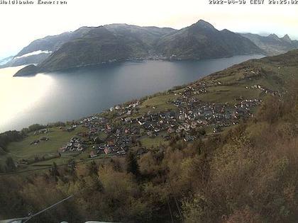 Emmetten: View to lake