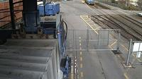 Zug: Zufahrt zum Zuger �kihof - Overdag