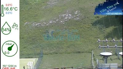 Vista de cámara web de luz diurna desde Sportski Centar Babanovac: Vlasic BiH, Babanovac