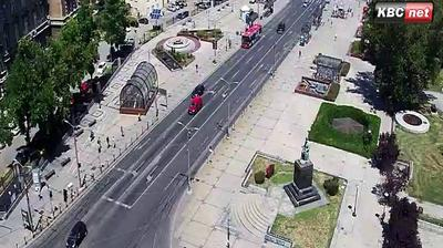 Daylight webcam view from Belgrade: Live − Vukov spomenik