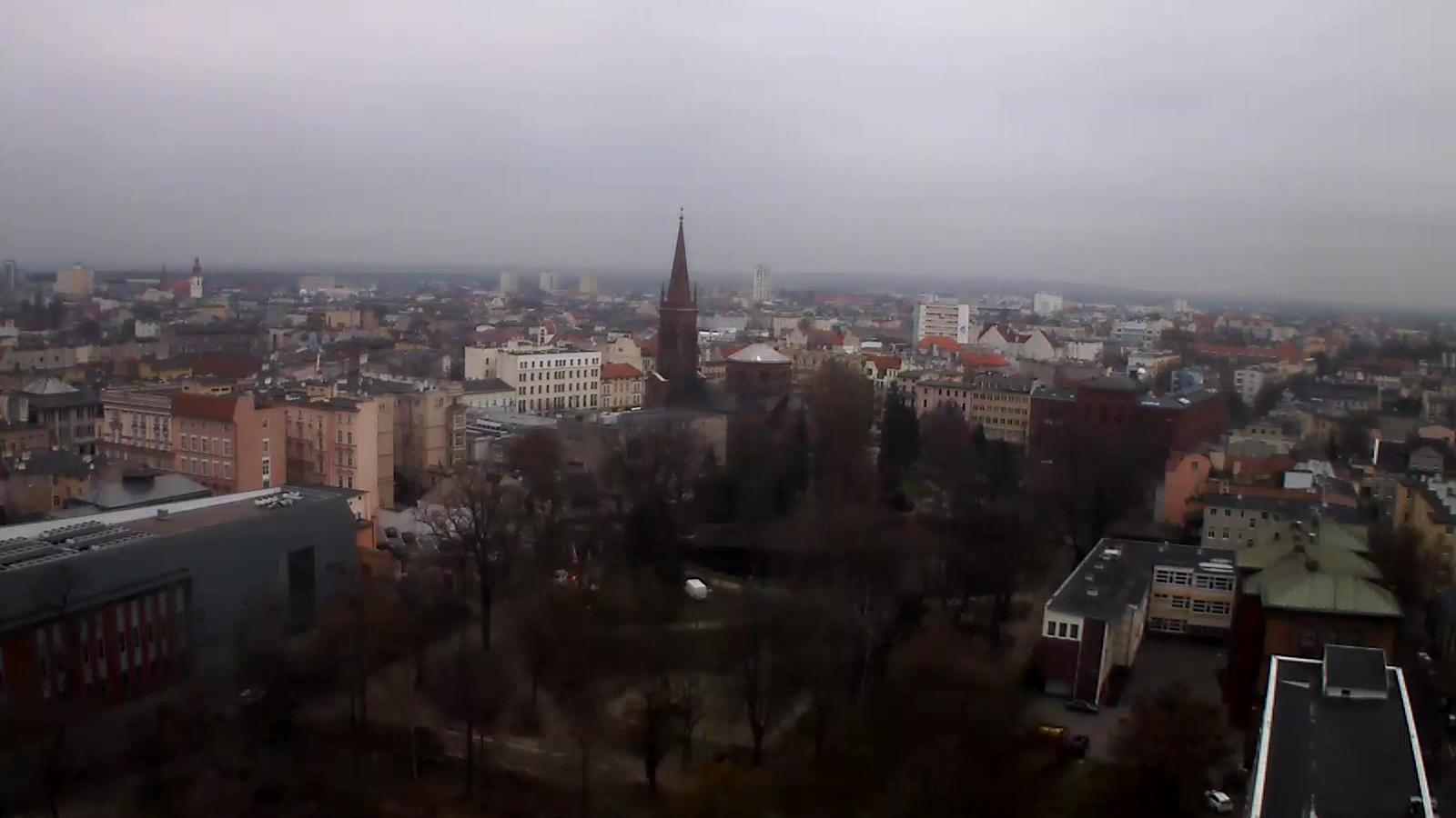 Webcam Bydgoszcz: panorama miasta widok północno-zachodni