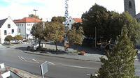 Holzkirchen: Marktplatz - Overdag