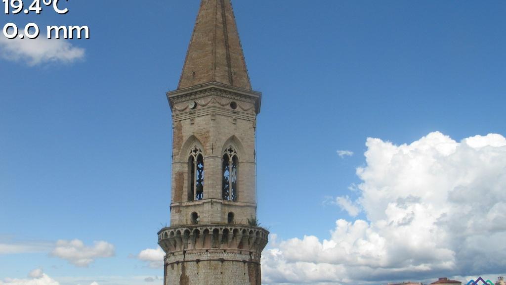 Webcam Perugia: abbazia di San PIetro