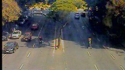 Vista de cámara web de luz diurna desde Belo Horizonte: Mercado Central − Traffic