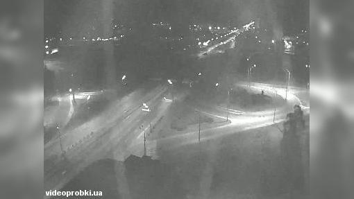 Webkamera Bykovnya: Новороссийская площадь, метро Черниговск