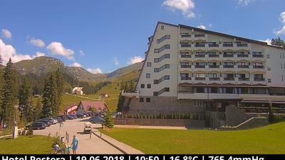 Webcam Munţii Bucegi: Hotel Peștera