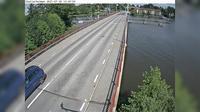 Stallarholmen: Kameran �r placerad p� l�nsv�g  (S�dermanlands l�n) i h�jd med Stallarholmsbron och �r riktad mot Sela�n - Actuales