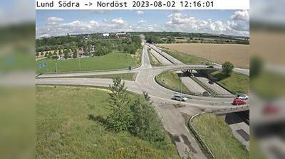 Vista de cámara web de luz diurna desde Stora Uppåkra: Lund Södra Nordöst