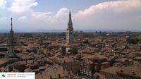 Modena › South-West: Piazza Roma - Torre Civica - Ghirlandina - Monte Cimone - Appennino Tosco-Emiliano National Park - Day time