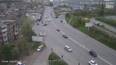 Владивосток: Владивосток,съезд с Адм. Юмашева