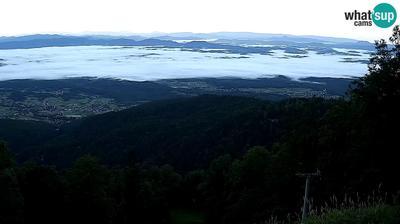 Zagreb: View to Bistra Gornja, Donja