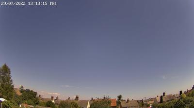 Daylight webcam view from Wareham › East: Sky