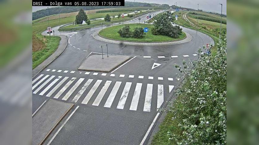 Webcam Dolga Vas: H7 − krožišče