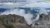 Leutasch: Meilerhütte - Wetterstein - Blick nach Nordosten - El día