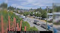 Surrey > North: Hwy  at nd Street, looking north on nd - Overdag