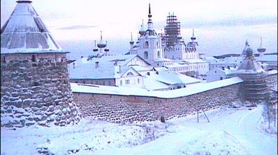 Webcam Solovetsky: Monastery, view from North-West