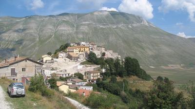 Tageslicht webcam ansicht von Castelluccio: di Norcia Umbria