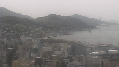 Tageslicht webcam ansicht von Nagasaki