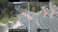 Brisbane City: Chermside - Gympie Road - Webster Road (South-East) - Dagtid