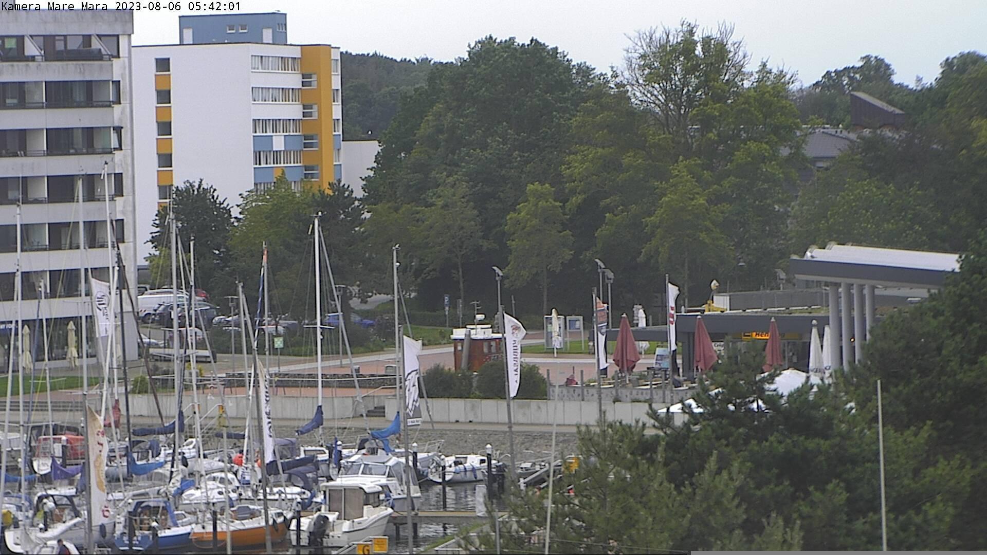 Webcam Nieby: Aktionsstrand und Promenade im Ostsee Resor