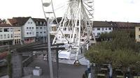 Bruchsal: Bruchsaler Marktplatz - Dagtid