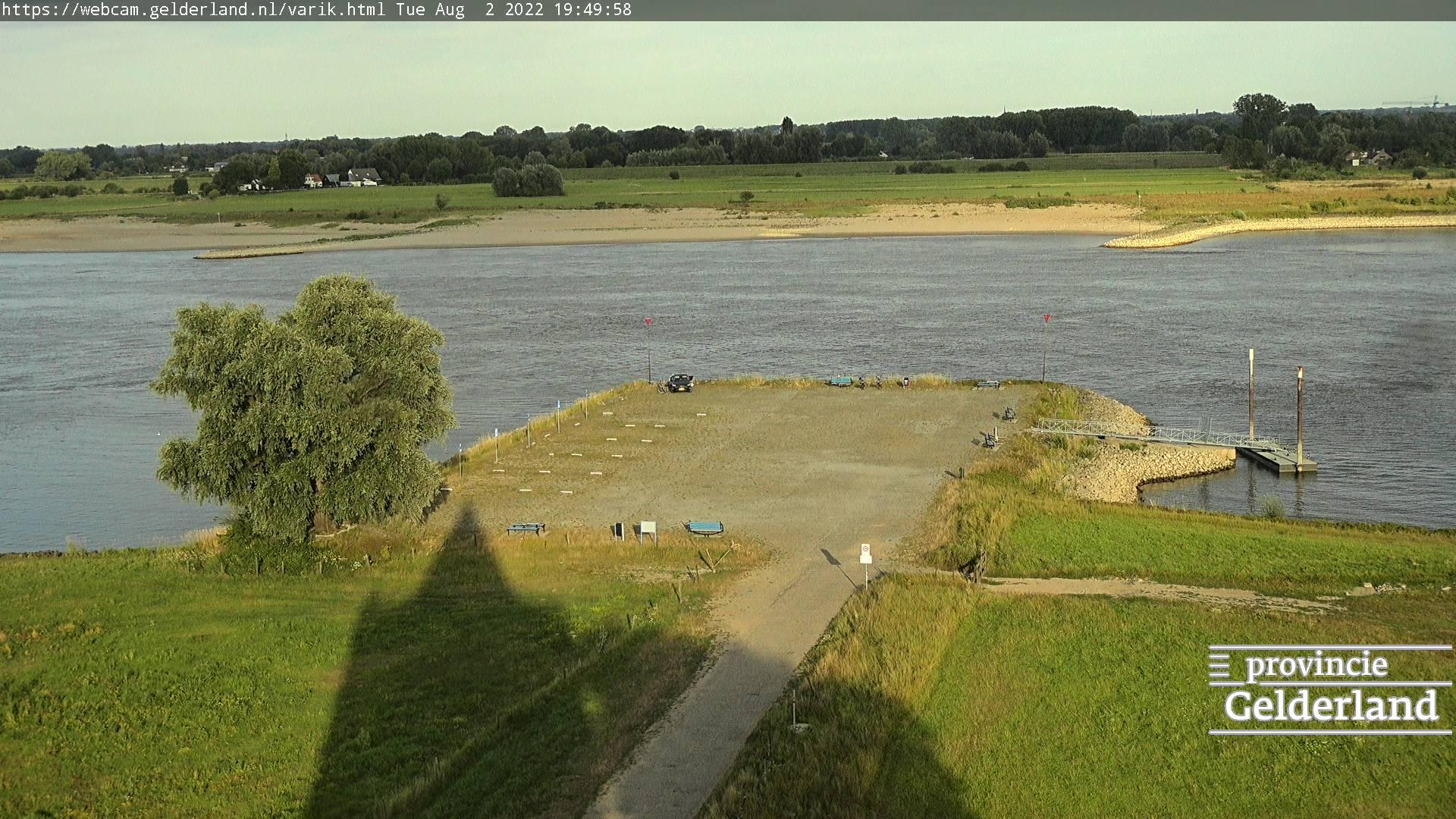 Webcam Varik: Waalpleisterplaats de Bol