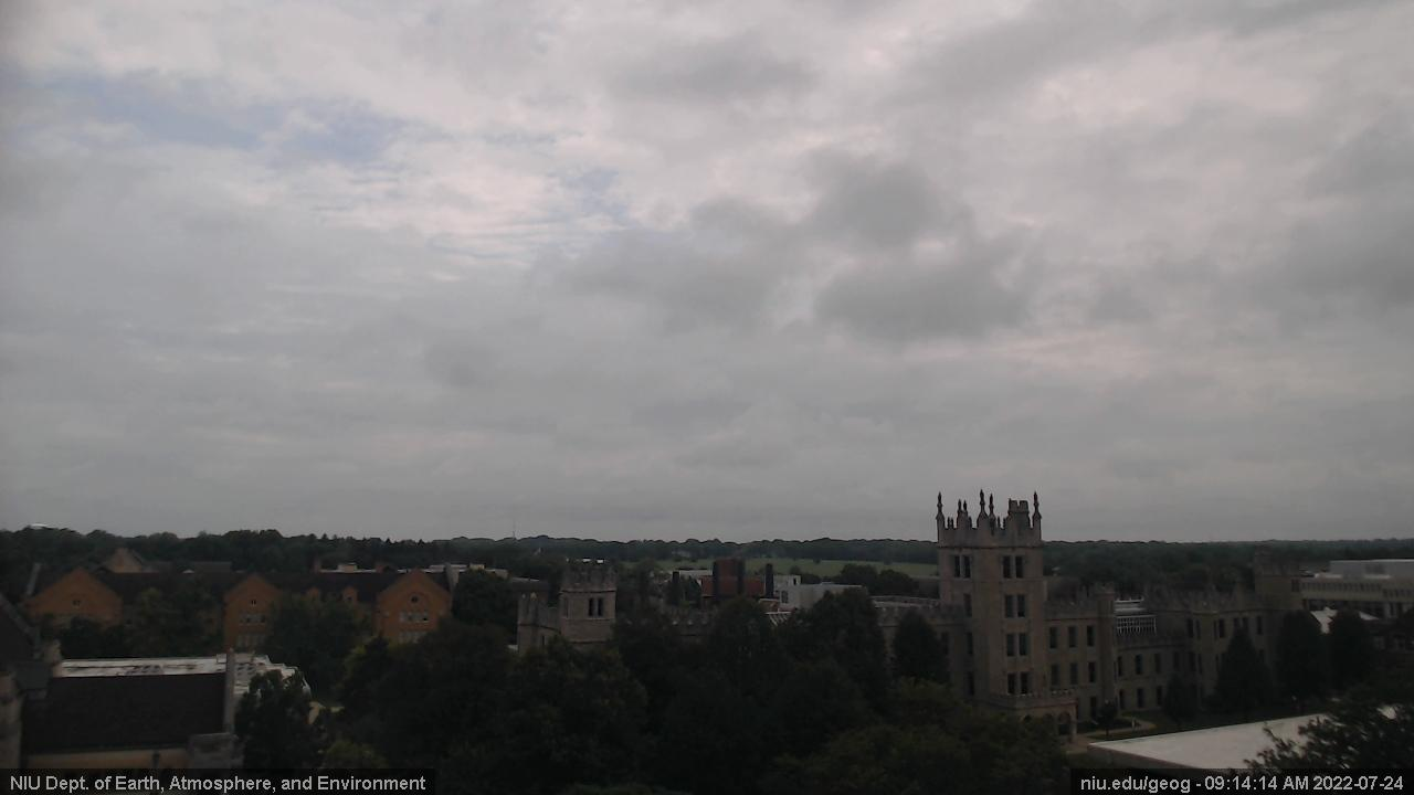 Webcam Northern Illinois University › North-East: Norther