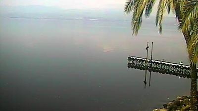 Daylight webcam view from Sea of Galilee: Lago de Tiberíades